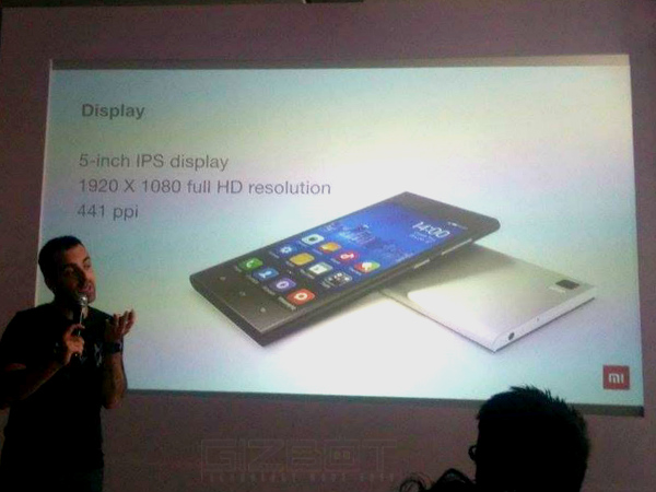 Xiaomi Mi 3 Officially Launched in India for Rs 13,999