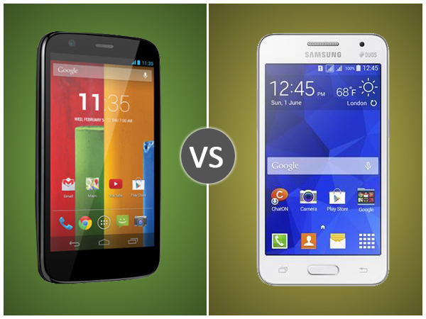 Samsung Galaxy Core 2 Vs Motorola Moto G: Specs Comparison