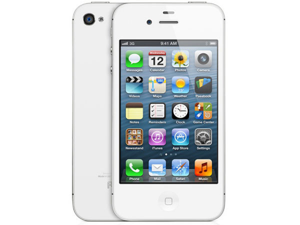Apple iPhone 4S: 6th best-selling smartphones worldwide