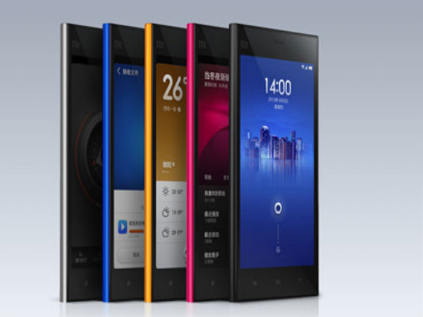 Xiaomi Mi3: 7th best-selling smartphones worldwide