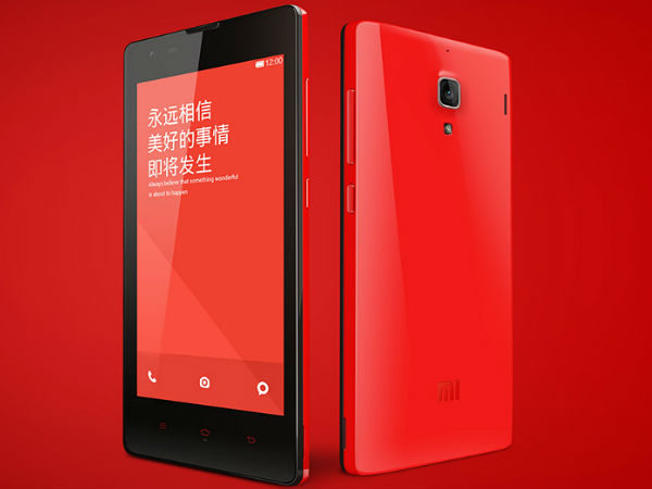 Xiaomi Hongmi Redrice: 9th best-selling smartphones worldwide
