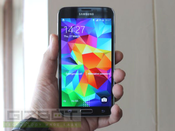 Samsung Launches Galaxy S5 With 4G LTE Support in India at Rs 53,500