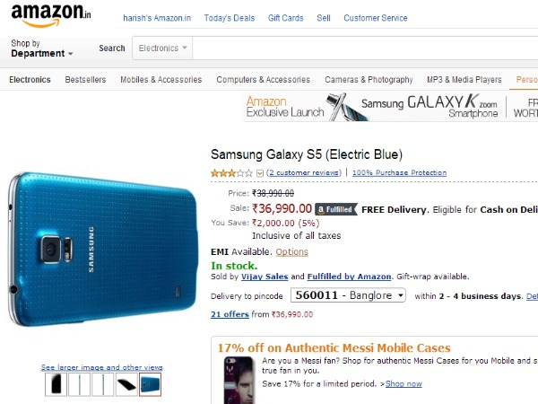 Buy At Price of Rs 36,990