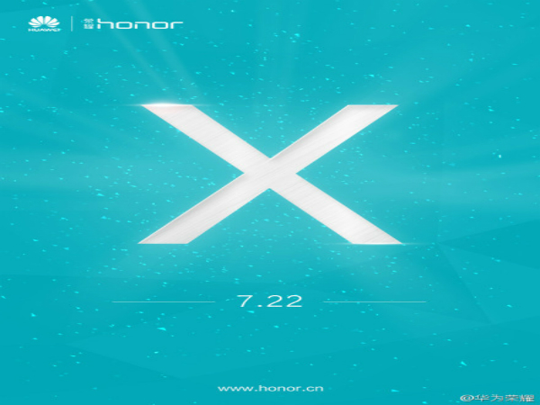 Huawei Tipped To Launch Honor X on July 22