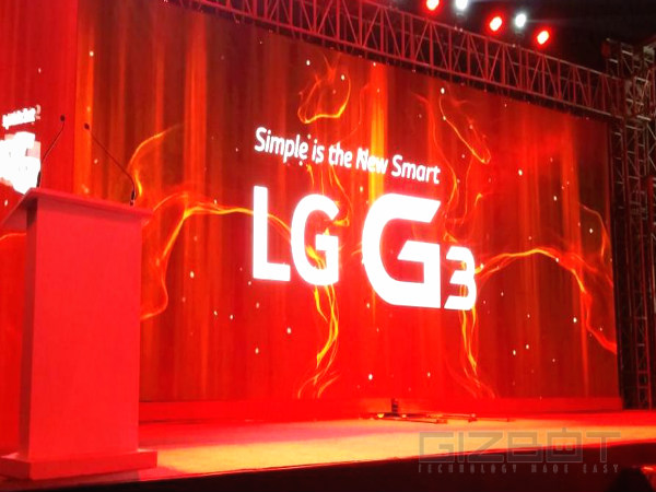 Watch LG G3 India Launch Live Webcast Here