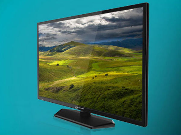 Micromax 32-Inch LED TV Now Up For Sale At Rs 16,490