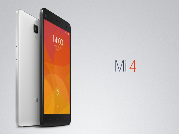 Xiaomi Launches Mi4 With 5-Inch FHD Display, Snapdragon 801 CPU