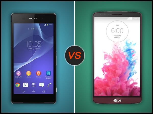 LG G3 Vs Sony Xperia Z2: Specs Comparison
