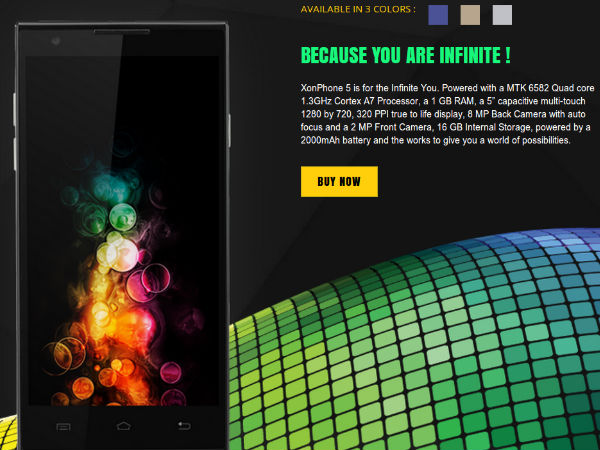 Oplus XonPhone 5 to go official in India on July 24