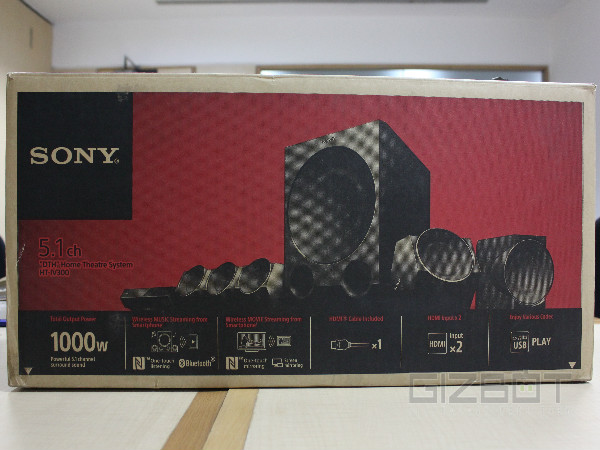 Sony HT-IV300 5.1 DTH Home Theatre Review: The Most Compact Size Ever