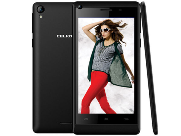 Celkon Millennium Vogue Q455 With KitKat OS Launched At Rs 7,999