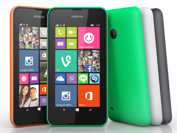 Microsoft's Lumia 530 Smartphone Unveiled with Cortana