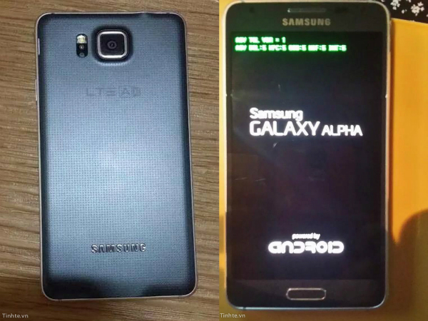 Samsung Galaxy Alpha: Metal Bodied Smartphone Leaked