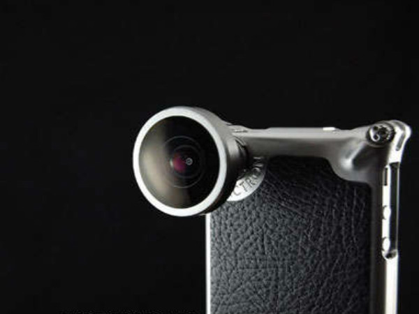 Smartphone Camera Accessory: Metal Cases with Attachment