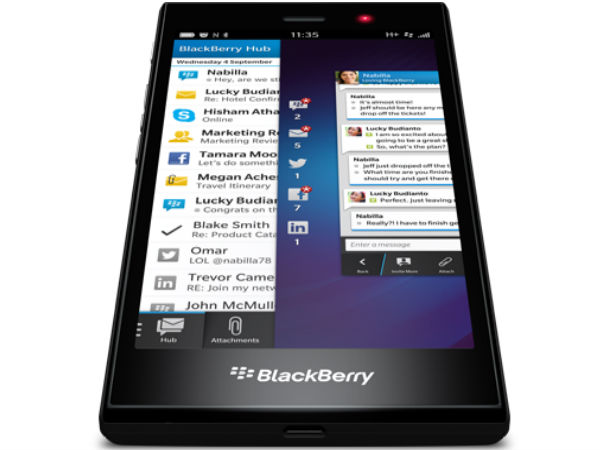 BlackBerry Z3 Features: BlackBerry Hub