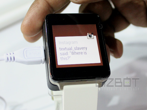 LG G Watch Hands On and First-Look