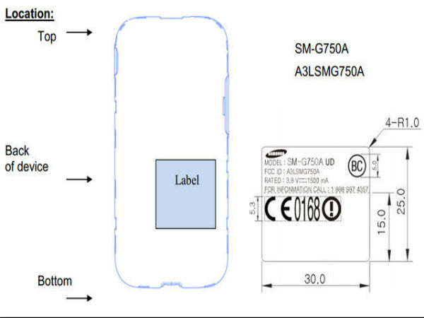 Samsung Galaxy Mega 2 (SM-G7508): Large Screen Phablet Hits the FCC