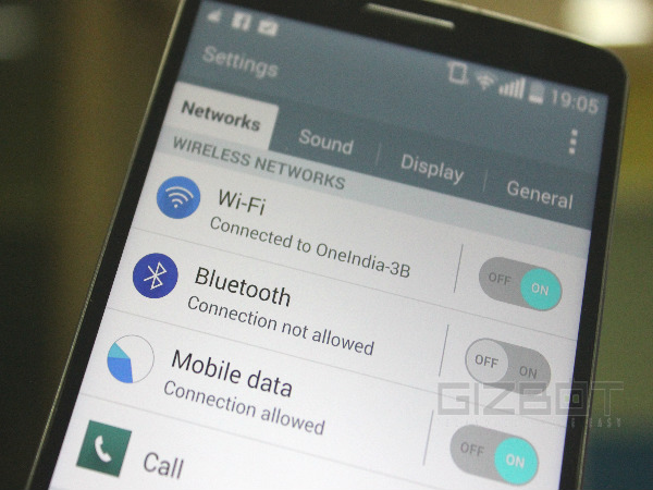 Use LG G3 as Wi-Fi Hotspot
