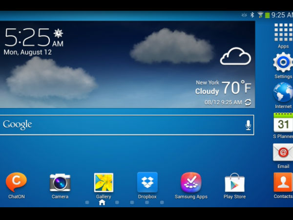 Samsung Galaxy Tab 3 Series Tips and Tricks: Home Screen Customization