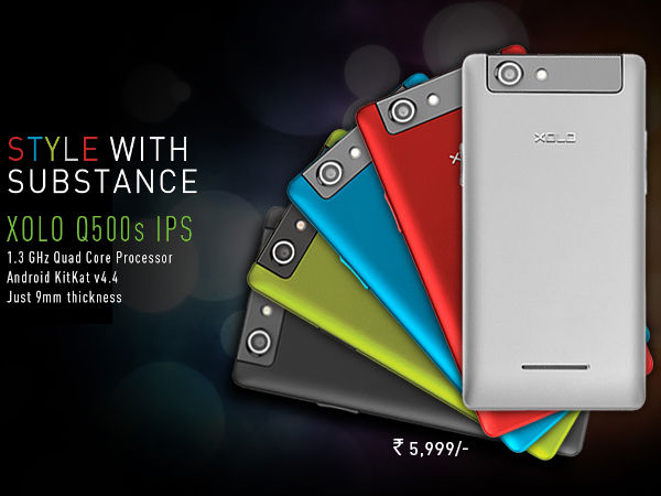 Xolo Q500s IPS: Key Specifications
