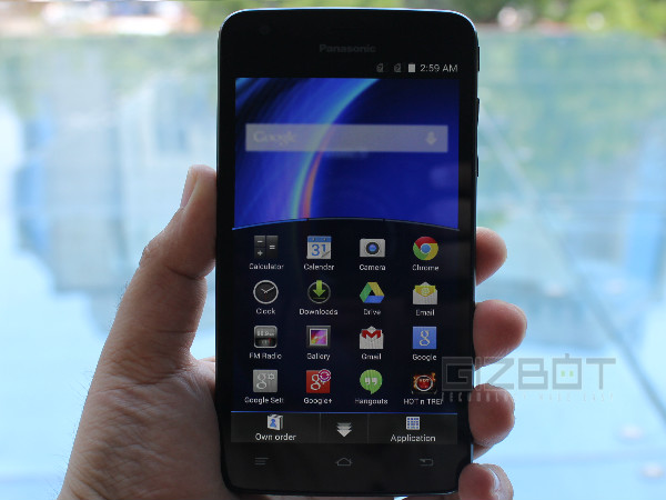 Panasonic Eluga U Hands-On and First Look