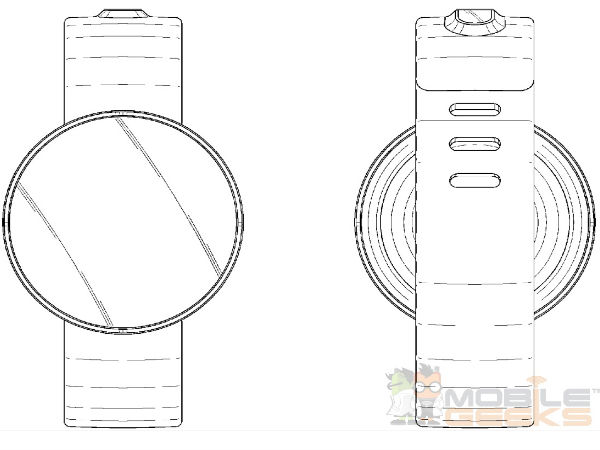 Samsung Patents New Smartwatches With Rounded Display