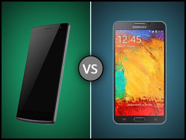 Oppo Find 7a Vs Samsung Galaxy Note 3 Neo: Specs Comparison