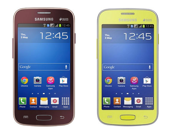 Samsung Galaxy Star Pro GT-S7262 Now Available in India At Rs 5,949