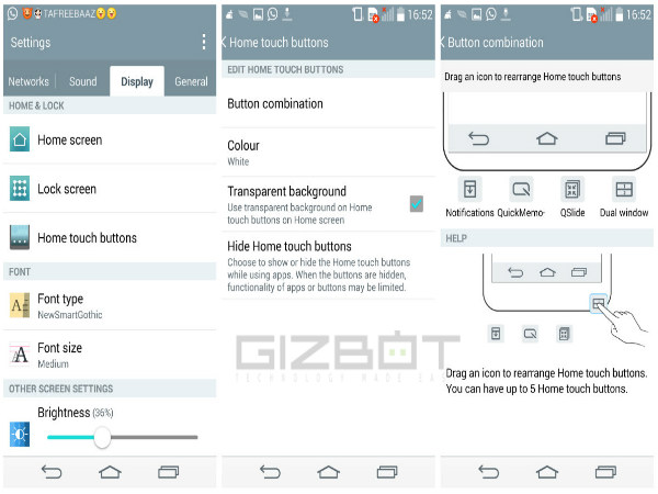 LG G3 Tips and Tricks: Changing Navigation Buttons