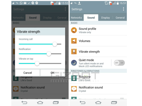 LG G3 Tips and Tricks: Vibration Strength