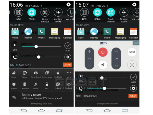 LG G3 Tips and Tricks: Quick Remote ands QSlide