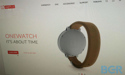 OnePlus OneWatch: Moto 360 Killer Leaked With a Round Face