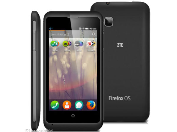 ZTE Open C: First Firefox OS Phone Now Available in India for Rs 9,999