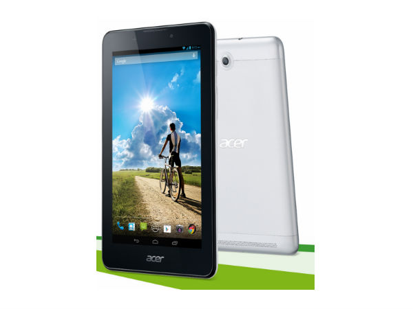 Acer Launches Iconia A1-713 Tablet with 3G Voice Calling in India