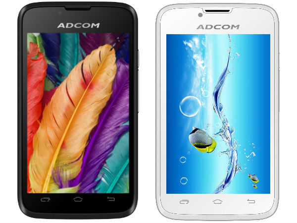 Adcom A430+ With 4 Inch Display Launched For Rs 3,399