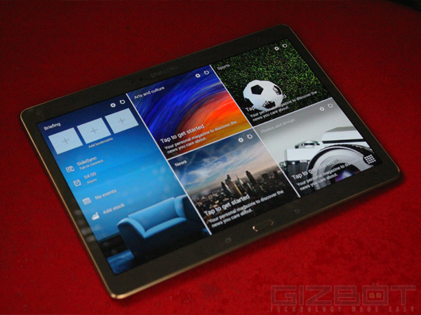 Samsung Galaxy Tab S – Compatibility with Samsung Wireless Gamepad