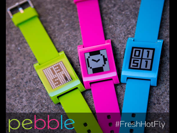 Pebble Smartwatch Now Listed With Limited Edition Color Variants