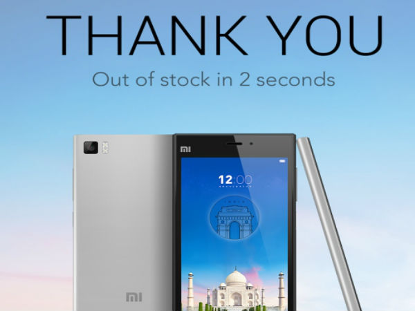 Xiaomi Mi3 Boasts 15,000 Unit Sales in 2 Seconds: Is This a Gimmick?