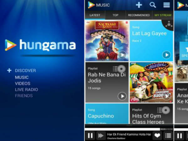 Hungama App for iOS Updated with Pro Service