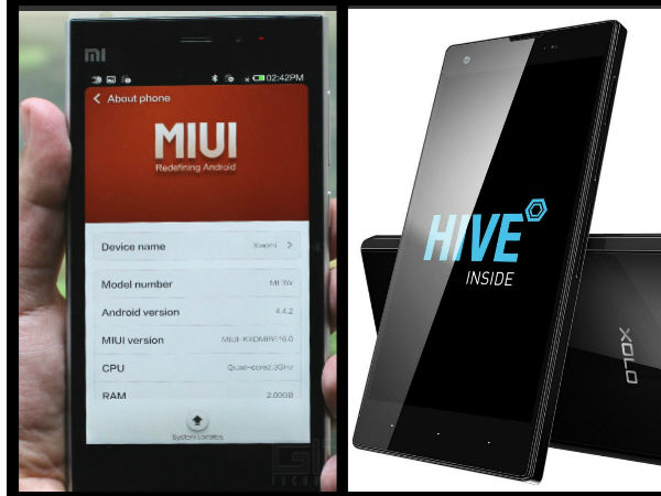 Xolo HIVE Vs Xiaomi MIUI: Top 5 Differences That You Should Know
