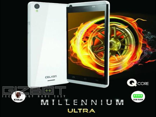 Exclusive: Celkon To Launch Millennium Ultra Q500 on August 24