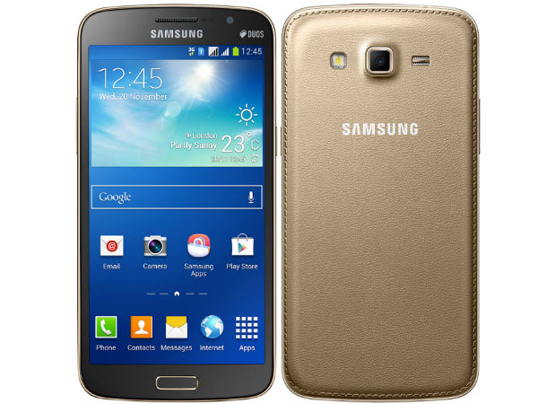 Gold Samsung Galaxy Grand 2 Listed On Official India eStore For Rs 20k