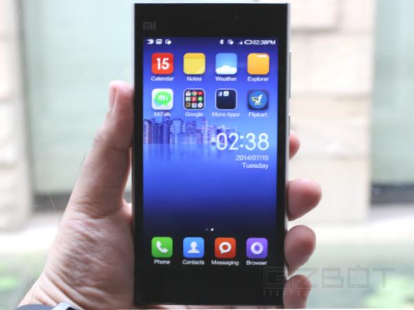 Xiaomi Sells 20,000 Units of Mi3 in Mere Seconds