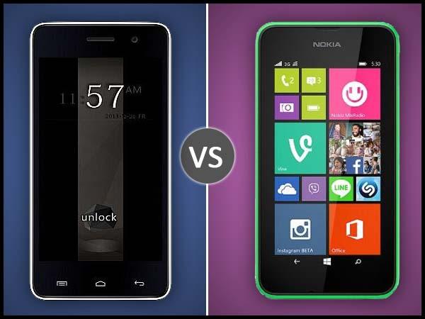 Nokia Lumia 530 Dual Vs Micromax Unite 2: Specs Comparison