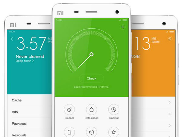 Xiaomi MIUI 6 Features: Heightened Security
