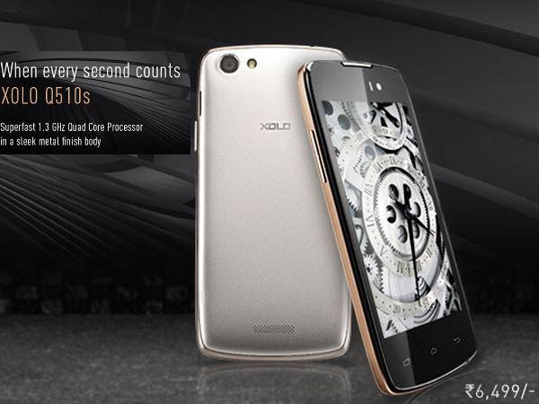 Xolo Q510s with 4-inch Display, Android KitKat Announced At Rs 6,499
