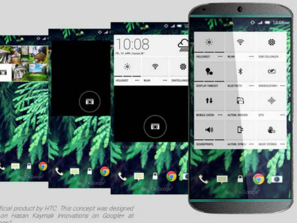 HTC One M9 Concept Images Revealed: Here's a Closer Look [PHOTOS]