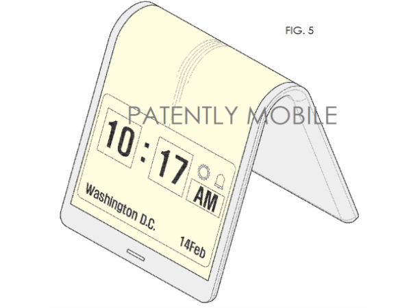 New Samsung Patent Hints At Foldable Smartphone Display, Again