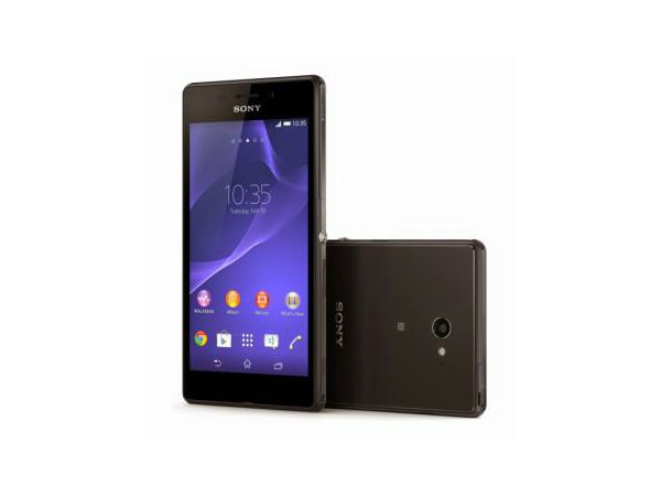 Sony Xperia M2 Aqua : Mid-Range Smartphone Gets Waterproofing