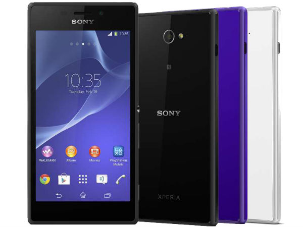 Sony Releases Android KitKat Update For Xperia M2 and M2 Dual